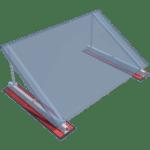 BIM Roof-Solar Bitume Incliné maquette numérique