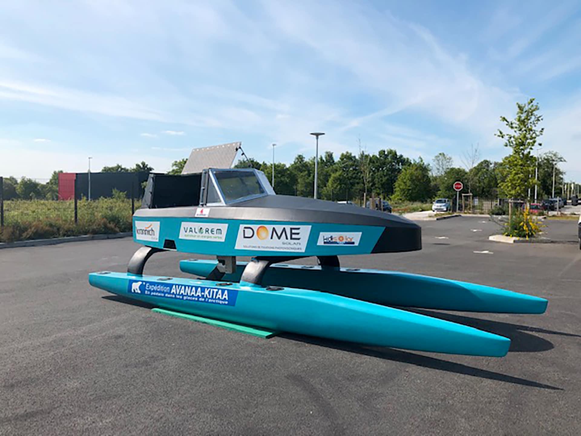 Les tests sur le lac Léman sont confirmés : Nanuuk et son équipage vont naviguer 5 jours en conditions réelles