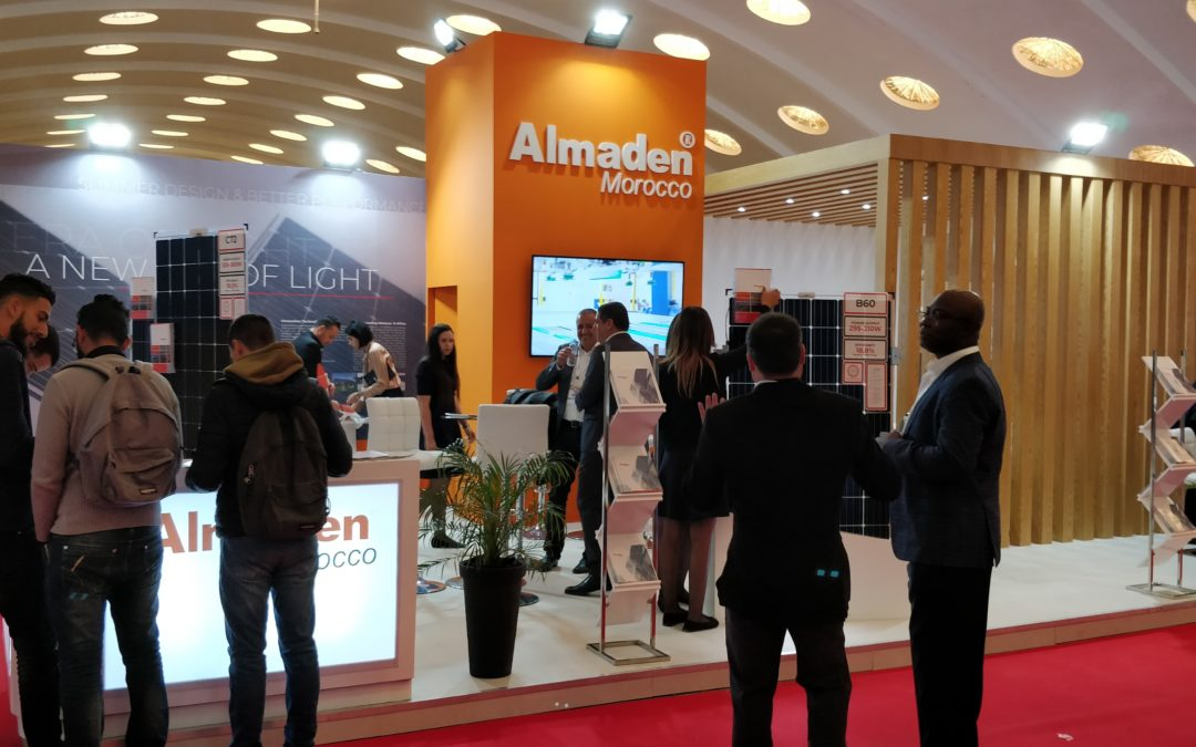 Dome-Solar-sur-le-stand-Almaden-Morocco-a-Solaire-Expo-Maroc