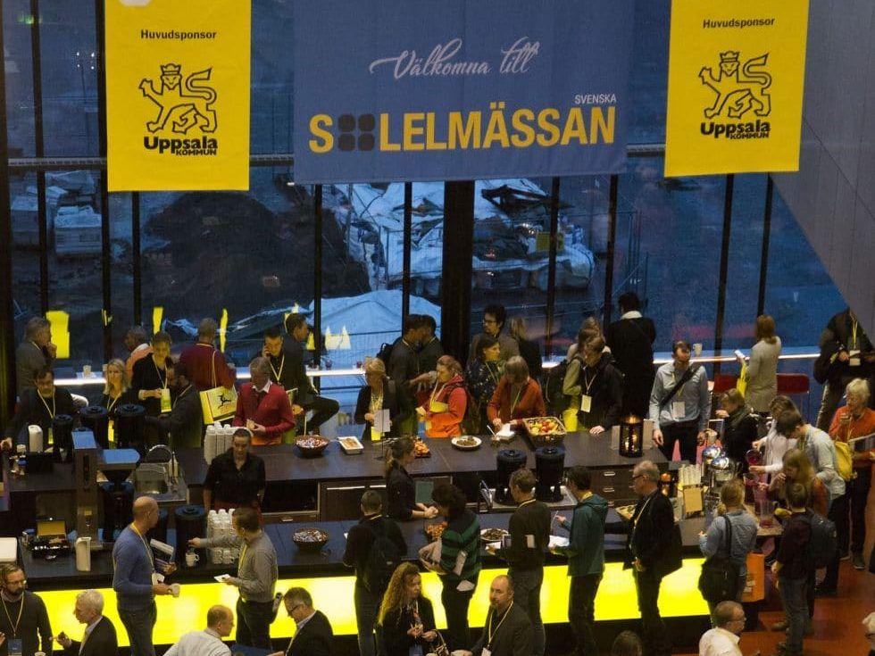 Dome Solar exhibits at Solelmässan: a swedish solar exhibition