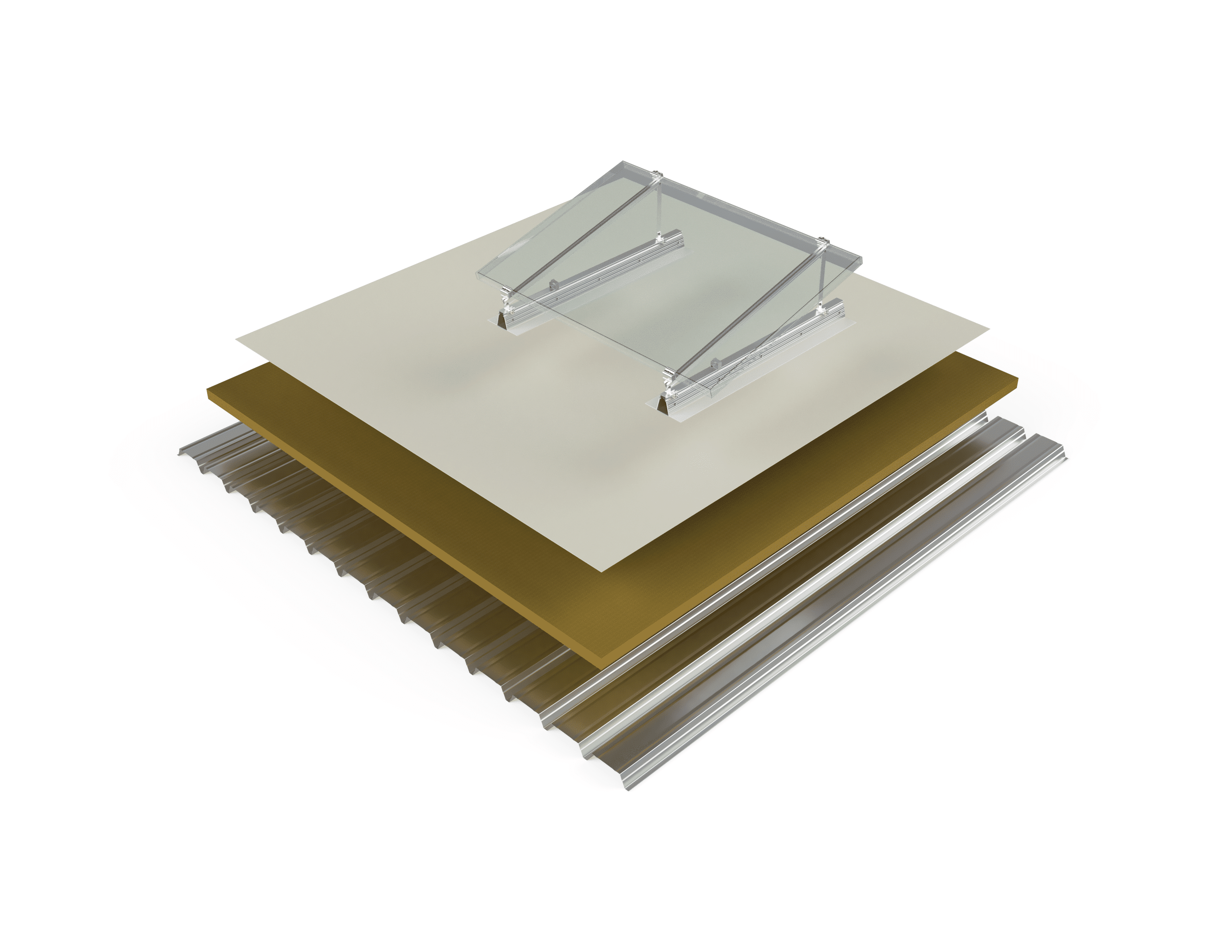 Mounting-system-photovoltaic-panels-TPO-membrane