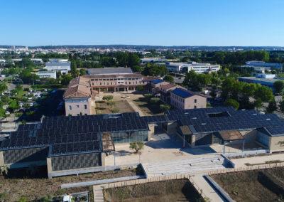 Trois toitures photovoltaïques pour la Chambre d'Agriculture du Gard