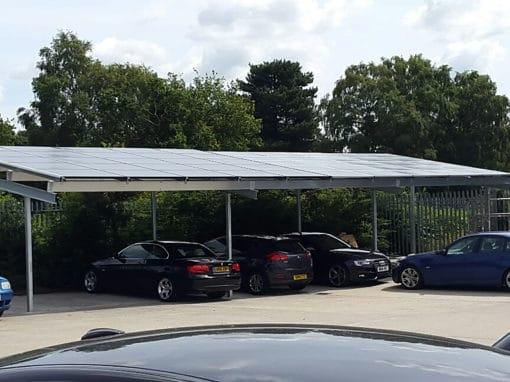 chantier-photovoltaique pour-un-parking