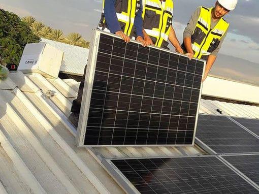 installation-panneaux-photovoltaiques-sur-bac-acier-palestine