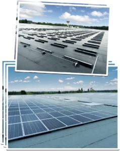Systèmes de fixation pour panneaux solaires