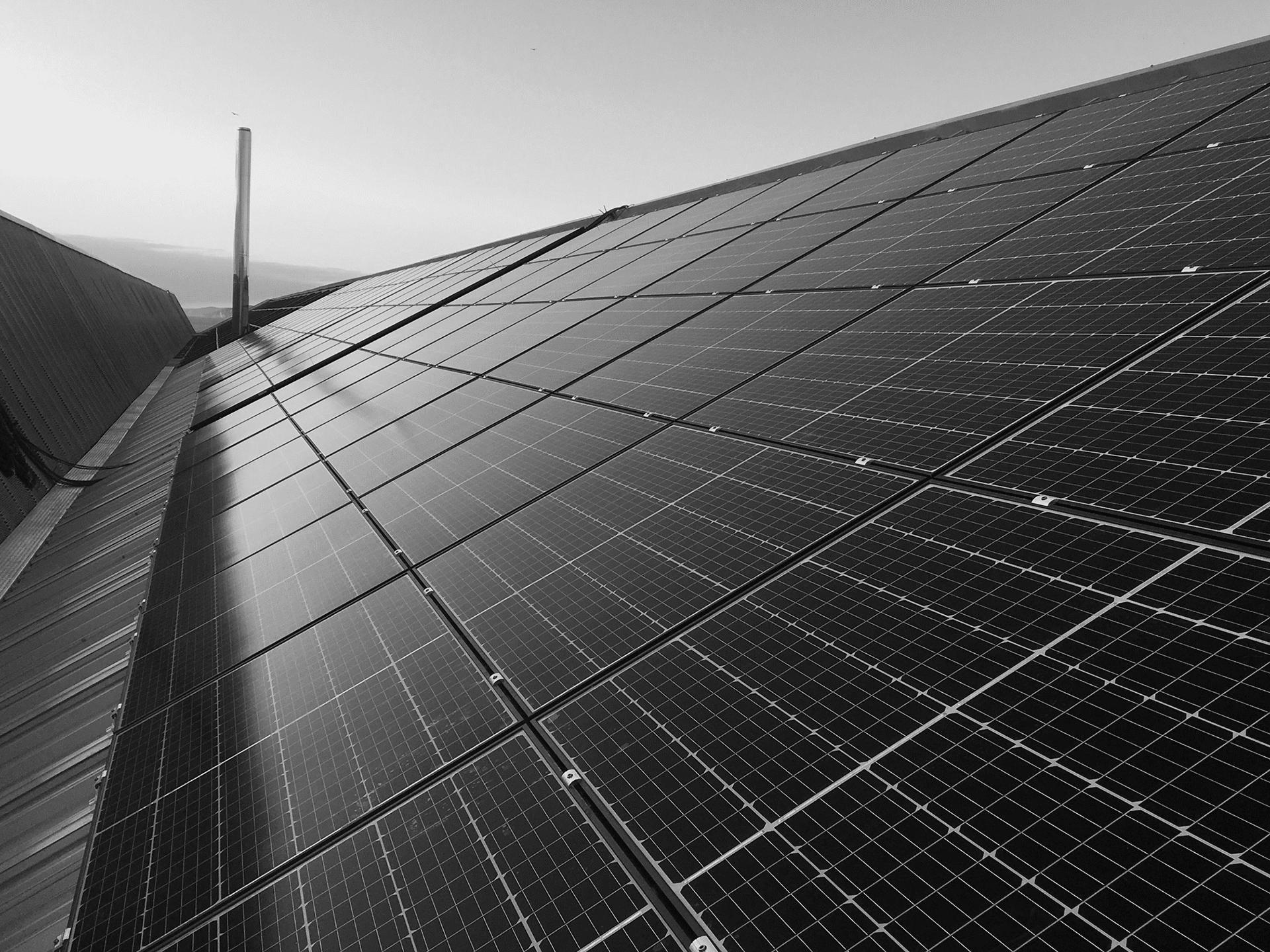 Trapezoidal-sheet-roofing-solar-panels