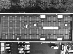 PV-mounting-system-bitumen-flat-roof-premises