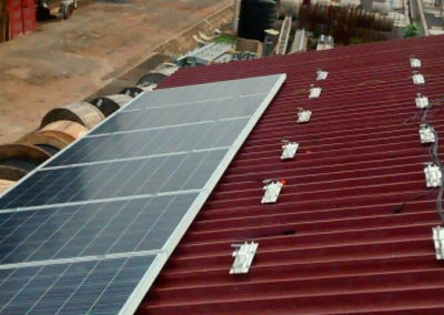 Photovoltaic roofs for GRIDCo in Ghana