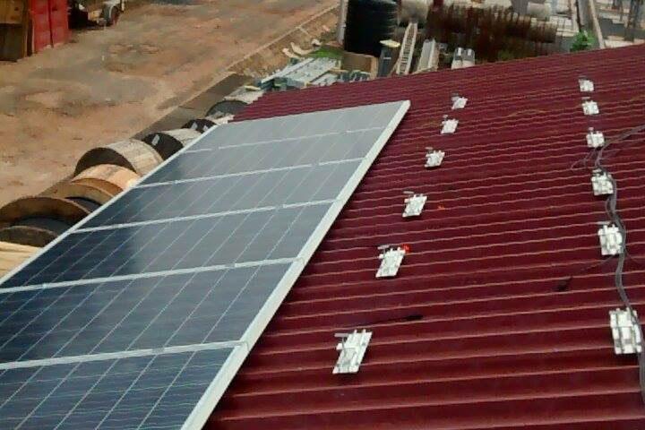 Toitures photovoltaïques pour GRIDCo au Ghana